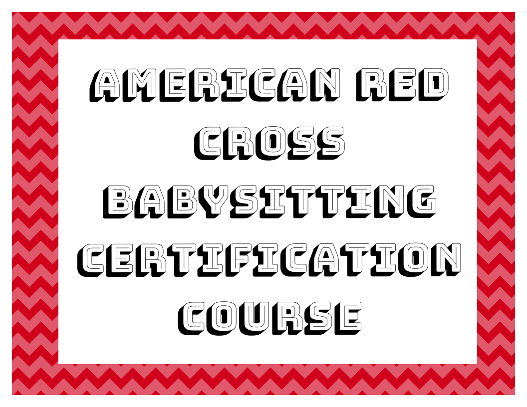 American red cross babysitting certification course coventry american red cross babysitting certification course 1betcityfo Image collections