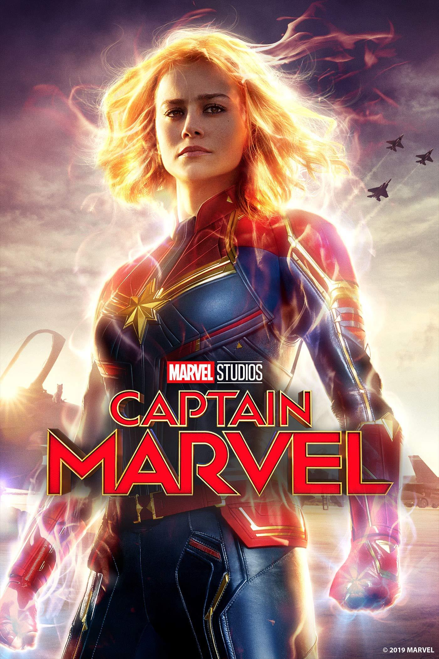 Captain Marvel movie cover