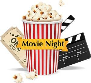 Teen Movie & Pizza Night, Thursday February 21 at 6pm