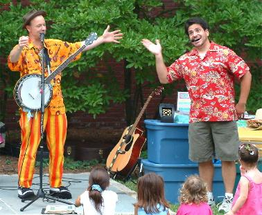 Toe Jam Puppet Band at Greene Library, Tuesday February 19 at 2pm